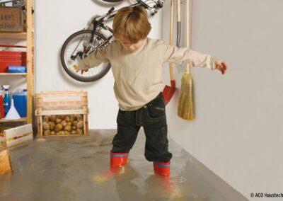 Rückstausicherung - damit Ihr Keller nicht unter Wasser steht