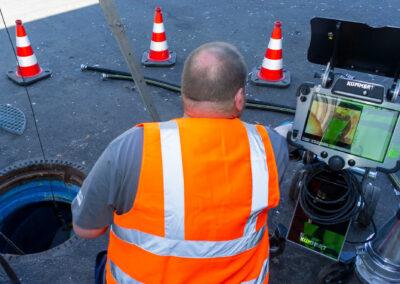 Kanalsanierung - Beseitigung von Schäden mitteles Inliner-Verfahren in Mönchengladbach