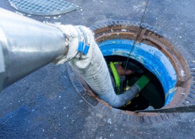 Kanalsanierung - Schadensermittlung mit dem Kamerasystem der Firma Kummert in Mönchengaldbach