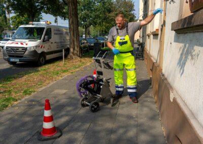 Kanalinspektion mit Kamerasystem von Kummert in Krefeld
