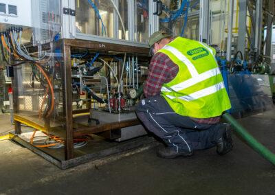Entsorgung von Flüssigkeiten wie zum Beispoiel Altemulsionen bei der Firma Biebighaeuser in Leverkusen