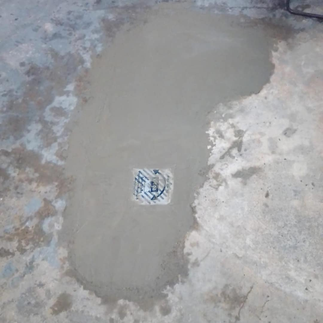 Neue Bodensenke um Rückstau zu vermeiden