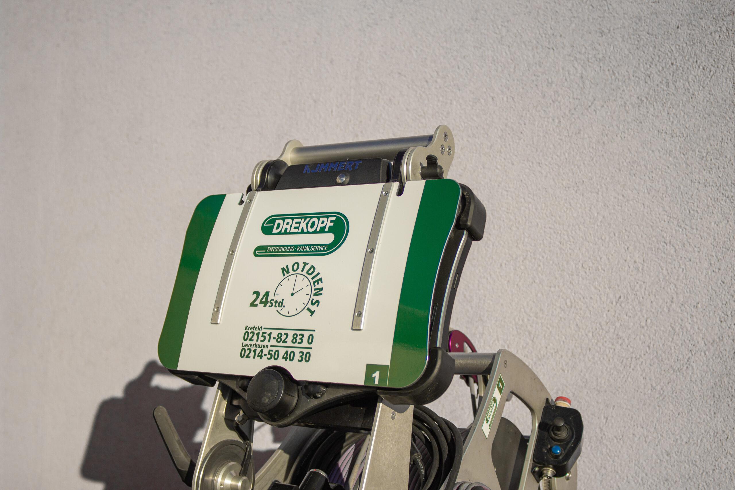 Azubi-Blog Teil 5, Sanierungsroboter