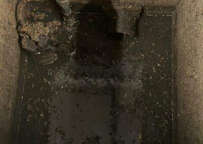 Unser Notdienst war bei dem Unwetter rund um die Uhr im Einsatz, um vollgelaufene Keller auszupummpen.