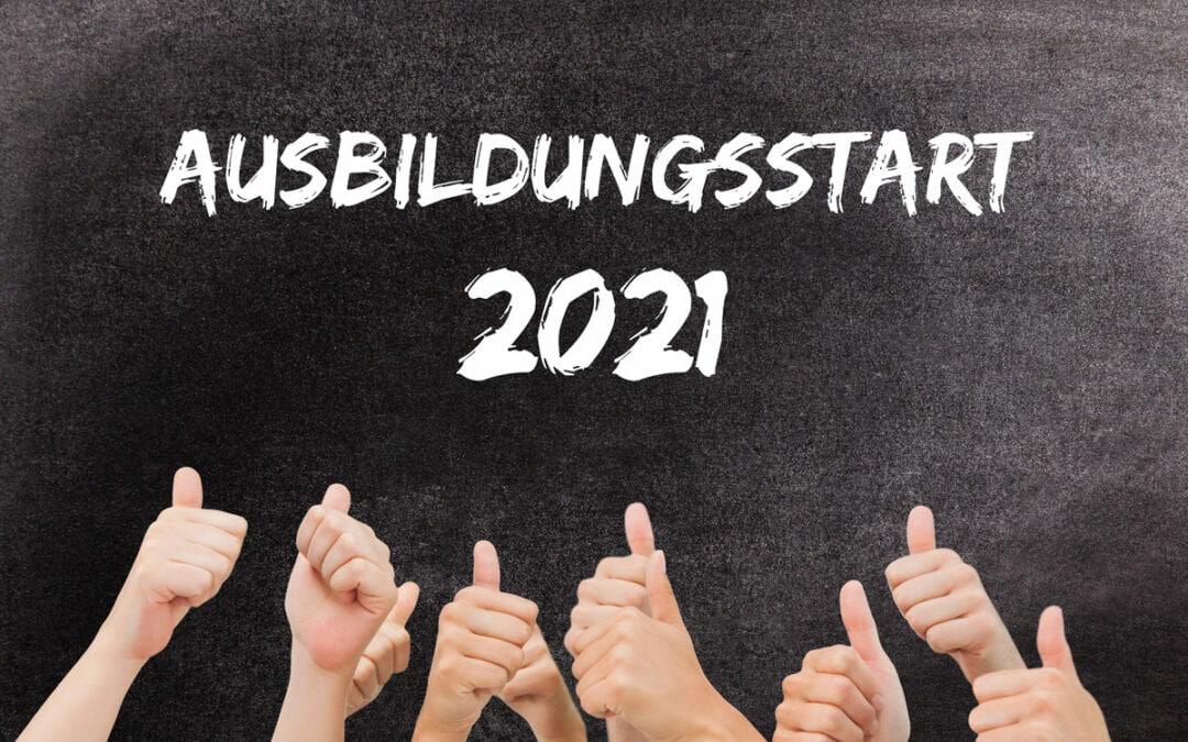 Ausbildungsstart 2021