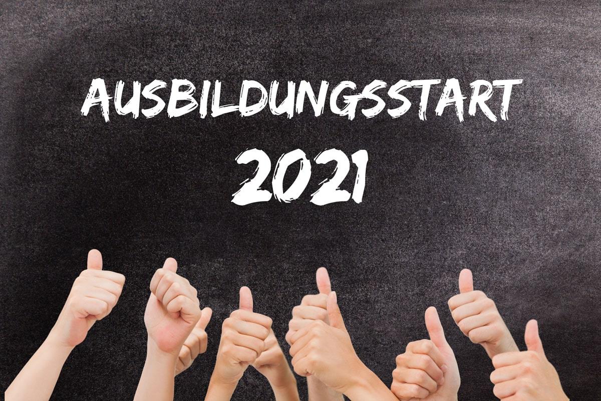 Ausbildungsstart 2021 bei DREKOPF und Grubenblitz